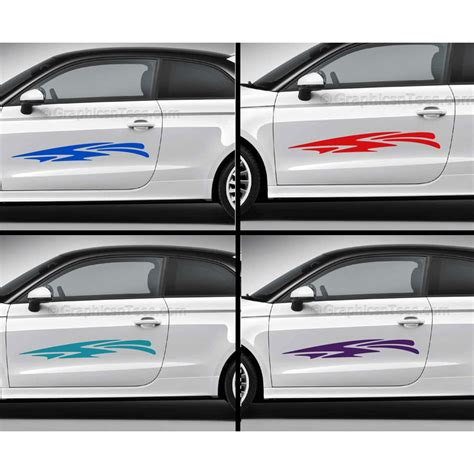 Cars Vinyl Decals by Car Stickers Custom Vinyl Graphic Decals 3