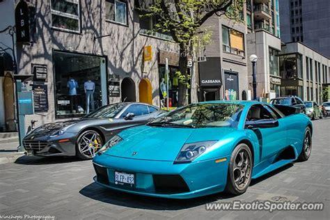 Lamborghini Toronto Lamborghini Murcielago Spotted In Toronto Canada On 05 23