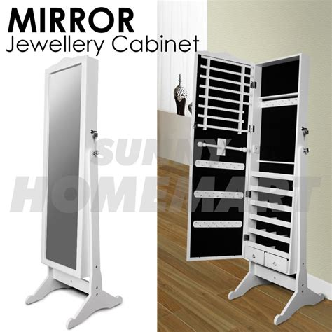 full length mirror jewellery cabinet the range 152cm euro style full length mirror jewellery cabinet white