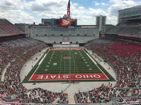 Ohio Stadium Student Section by Ohio Stadium Section 2c Rateyourseats