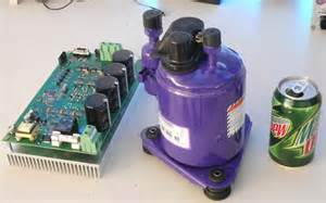 Electric Car With Air Conditioning Evdrive 187 Product Prototypes 187 Air Conditioning Compressor