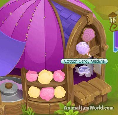 cotton candy machine cheats  animal jam animal jam world