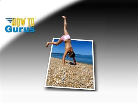 tutorial pop out logo how to do a 3d pop out effect jumping into picture adobe