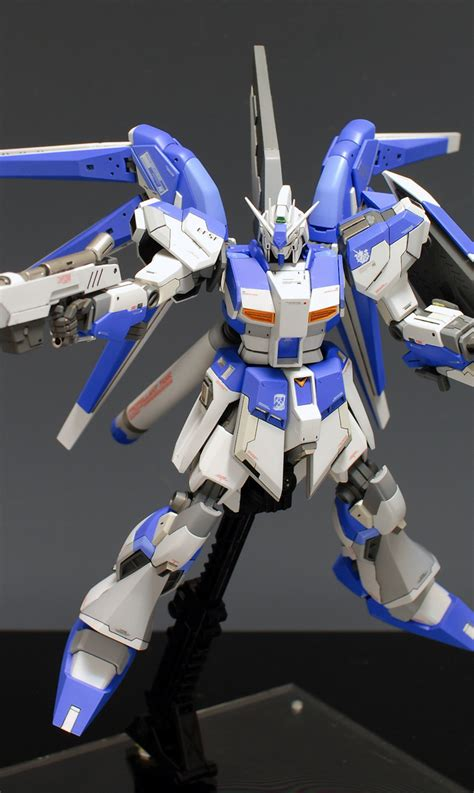 wallpaper nu gundam hguc rx 93 nu2 hi nu gundam improved painted build