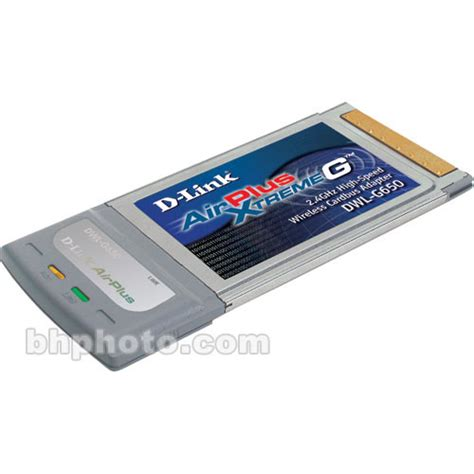 Linksys 802 11b G Cardbus Wireless Laptop Adapter d link airplus xtreme g dwl g650 wireless cardbus dwl g650 b h
