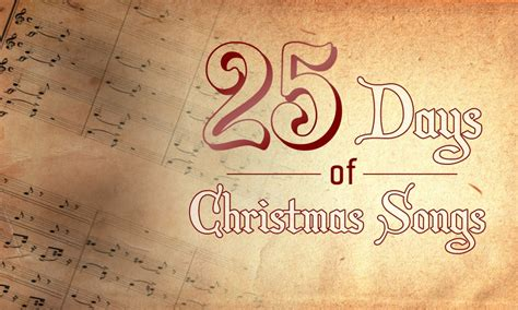 25 songs in 25 days petitemagique 25 days of christmas songs day 4 david lindner