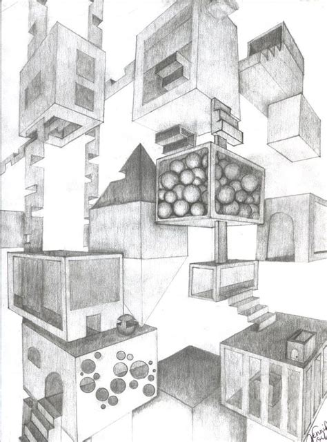 2 Point Perspective House Drawing Lesson by 143 Best Perspective Images On Perspective