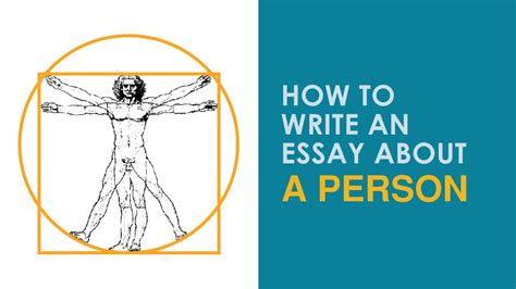 How To Write An Essay About A Person You Admire by How To Write An Essay About A Person
