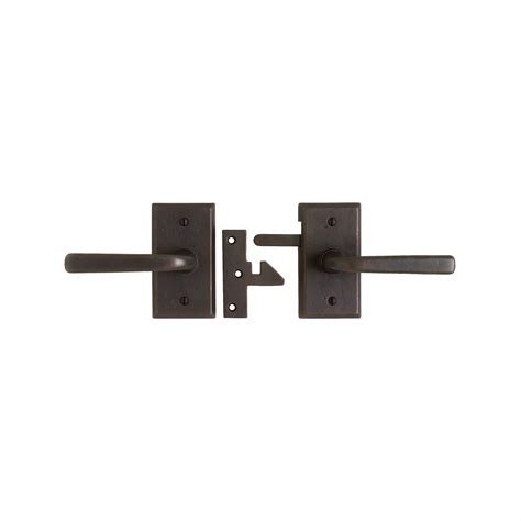 gate house lock rectangular flush pull 2 1 2 quot x 8 1 2 quot fp258 rocky mountain hardware