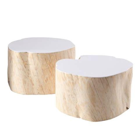 Rondin De Bois Table De Chevet by Table De Chevet Rondin De Bois