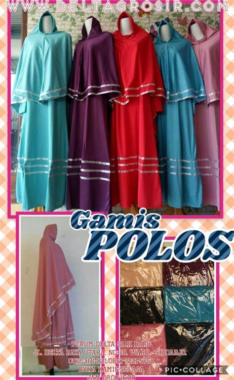 Supplier Gamis supplier gamis jersey polos syari dewasa murah surabaya 64ribu