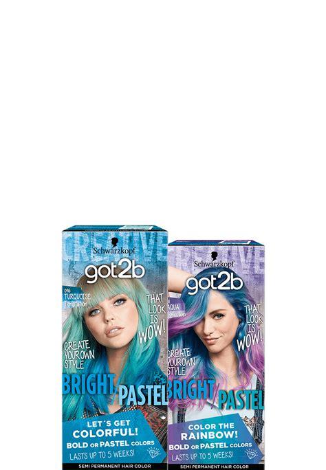 2b hair color got2b color