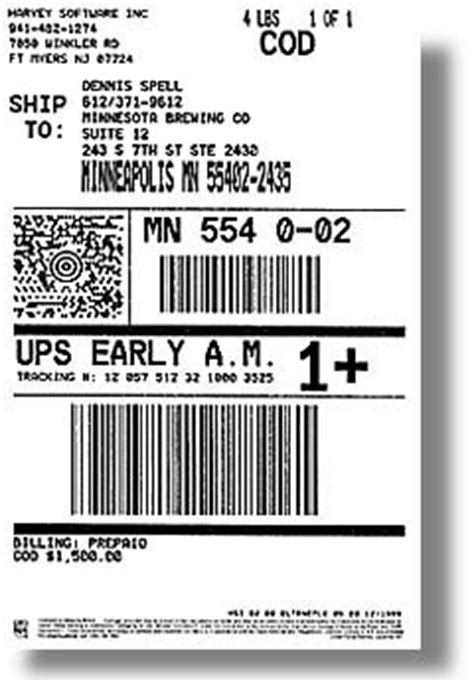 ups label template ups label template 28 images connectship custom