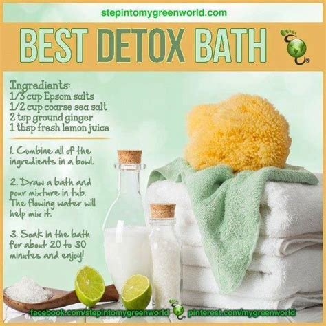 Detox Going To The Bathroom After by 17 Best Ideas About Bath Soak On Detox Bath