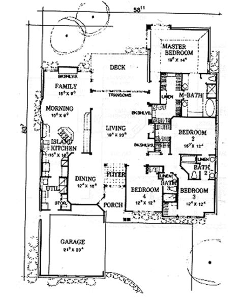morton building floor plans the morton 2945 4 bedrooms and 3 5 baths the house designers