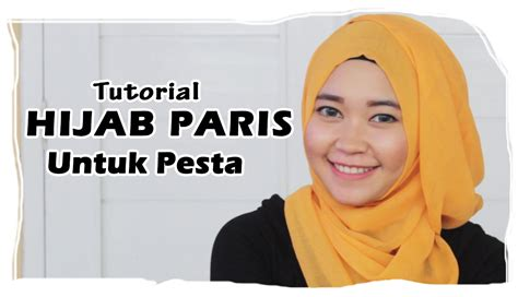 tutorial hijab paris pesta aneka tutorial hijab paris bisikan aneka cara