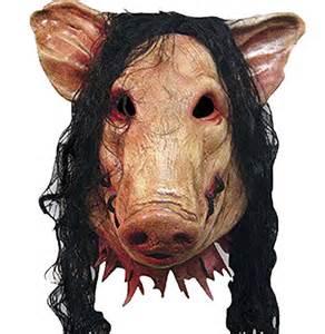 scary halloween masks shuning halloween creepy party full hair funny scary pig