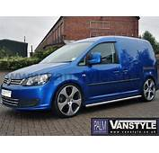 VS Styling 60mm Sidebars No Step VW Caddy 04 15  Vanstyle
