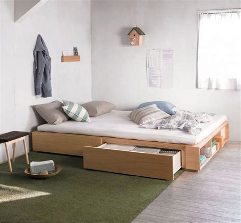 Muji Dresser by Best 25 Muji Bed Ideas On Bed Design Low Bed
