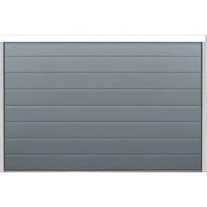 porte sectionnelle gris anthracite isol 233 e et motoris 233 e