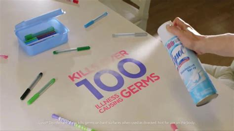 lysol disinfectant spray tv commercial  bug stops  protection ispottv