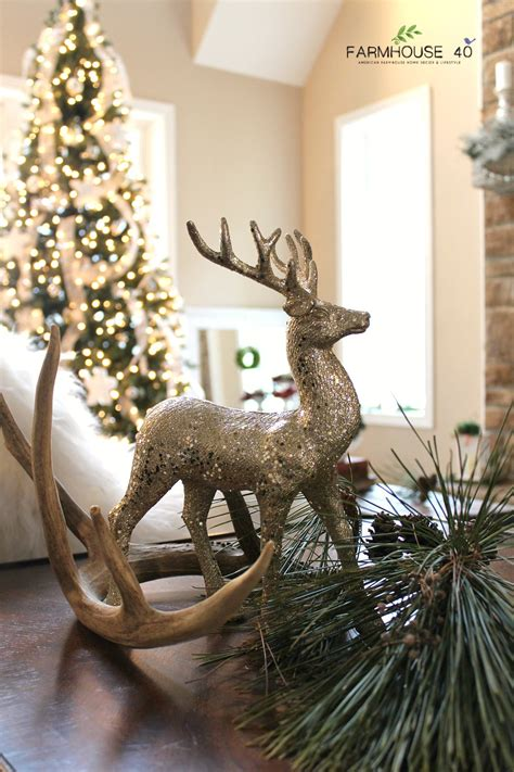 home decor red deer farmhouse christmas home tour pt 1 farmhouse 40