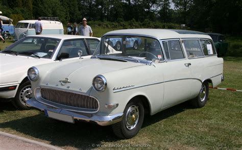 opel rekord station wagon opel 1958 rekord p1 caravan the history of cars exotic