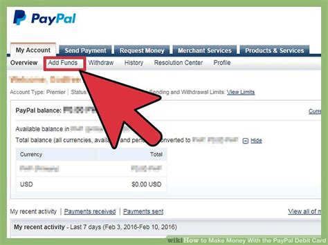 How To Make Money With The Paypal Debit Card 14 Steps