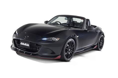 black mazda mx5 damd spices up mazda mx 5 forcegt