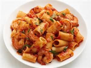 Pioneer Woman Comfort Meatballs Rigatoni With Spicy Shrimp Recipe Food Network Kitchen