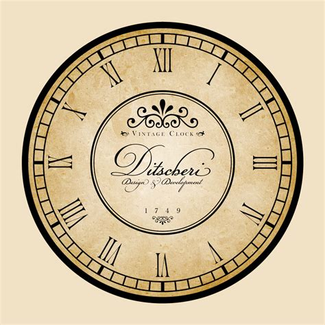 printable vintage clock clock designs clock s background and that s what we