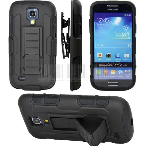 Samsung Galaxy S4 Hardcase Futur Armor With Stand Holster Original protective armor impact stand cover with belt