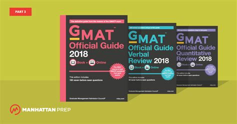 gmat official guide 2018 book gmat strategies and news manhattan prep