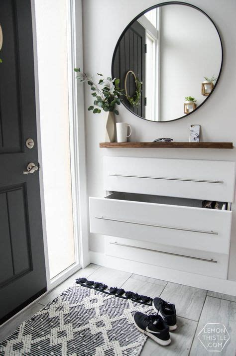 cool floating consoles  small entryways digsdigs