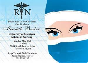 printable nursing graduation invitation nursing school grad
