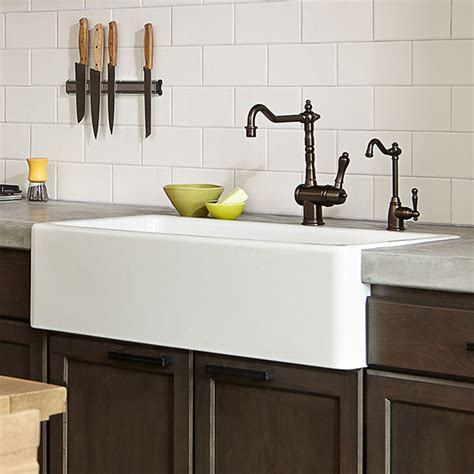 kitchen farm sink hillside 36 inch kitchen sink from dxv