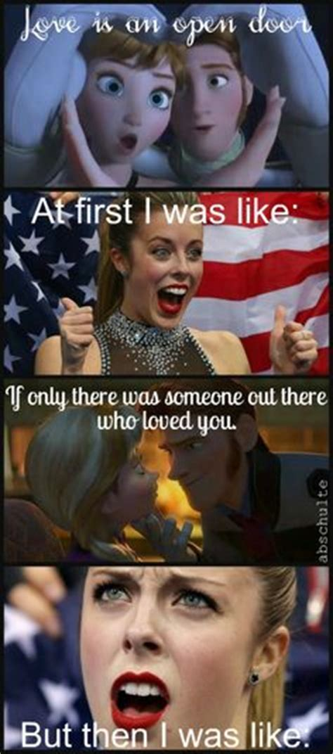 Ashley Wagner Memes - 1000 images about frozen and disney on pinterest frozen