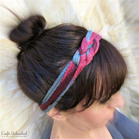 diy yarn diy headband tutorial made with ruffle yarn