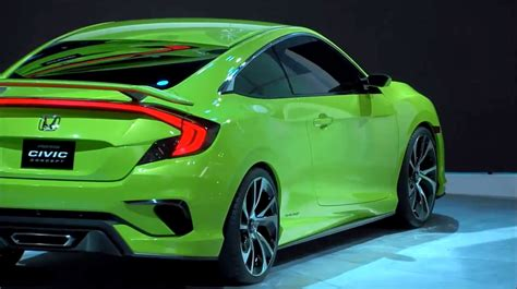 future honda civic new honda civic concept previews quot epic quot 2016 production