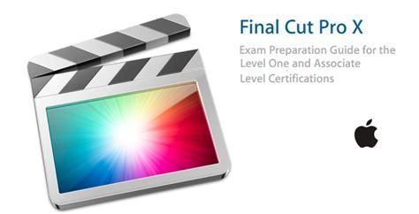 final cut pro logo become a certified final cut pro x expert christopher
