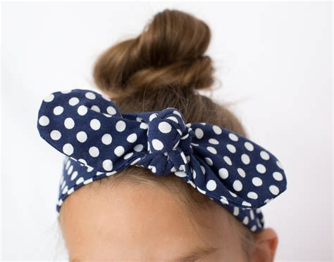 Knot Basic Headband How To Tie A Bow Knot Headband How To