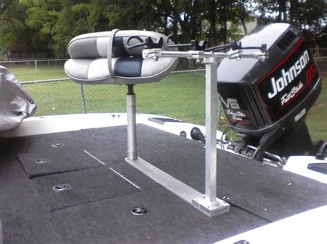 boat seat pedestal base rod holder rod holder ideas