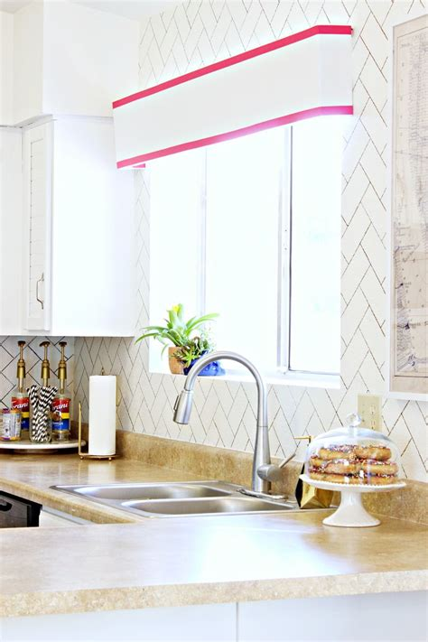 how to paint a tile backsplash a beautiful mess diy kitchen backsplash ideas