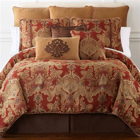 royal velvet comforter set upc 736425612947 royal velvet del rey 4 pc comforter