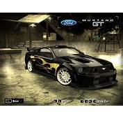 NFS Most Wanted  Razors Ford Mustang Recreation By