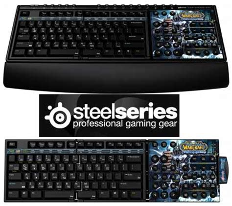 Steelseries Zboard Gaming Keyboard steelseries zboard limited edition gaming keyboard for world of warcraft wrath of the lich king
