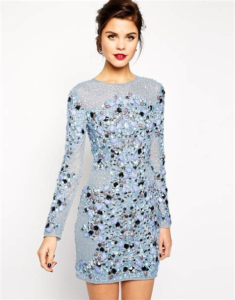 Sabrina Bodycon Dress Sold asos carpet premium mermaid embellished mini