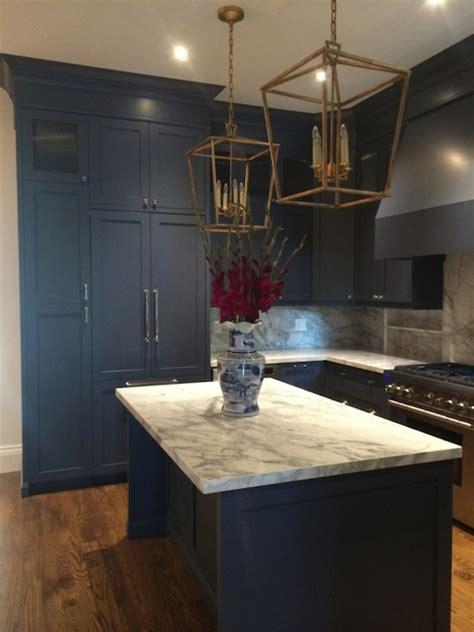 Navy Kitchen by Navy Kitchens Kitchen Meredith Heron Design