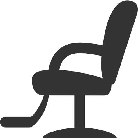 Black Salon Chairs Barber Chair Clipart 8