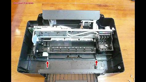 resetter epson tx121 how to disassembly epson tx121 youtube